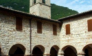 Il chiostro francescano
