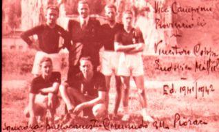 La squadra di basket del 1941-1942