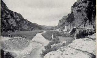 La vallata vista da ponte marmone