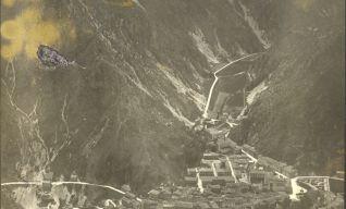 Pioraco e la vallata verso Sefro